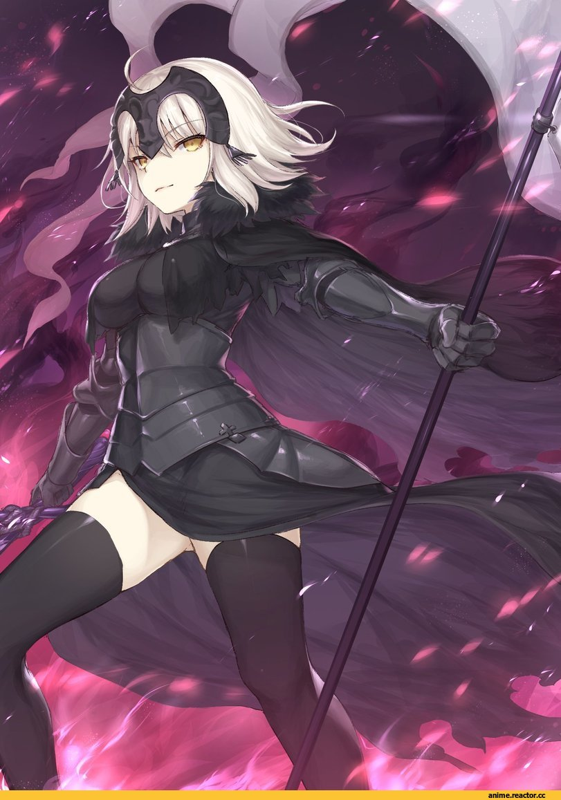 Jeanne Alter,Fate/Grand Order,Fate Grand Order, FGO,Fate (series),Fate (srs),Anime,Аниме,Mashu 003,Anime Art,Аниме арт, Аниме-арт