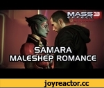 Mass Effect 3 Citadel DLC: Samara Romance (MaleShep),Games,,Want more Samara romance? Check the videos down below:  Mass Effect 3 Citadel DLC: Samara Romance (FemShep, v1) http://www.youtube.com/watch?v=irLnzMDqMT8  Mass Effect 3 Citadel DLC: Samara Romance (FemShep, v2)