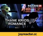 Mass Effect 3 Citadel DLC: Thane Romance (incl. ending scene and video messages),Games,,Want more Thane romance? Check the playlist down below:  Thane Romance: Mass Effect 2 & 3 http://www.youtube.com/playlist?list=PL70B8A4E5FDD8DECE  ****************************************  Want more Citadel DLC