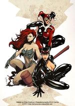 Artwork by Chris Evenhuis | Characters property of DC Comics © 2011 | http://chrisevenhuis.daportfolio.com