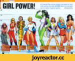 "As Supergirl flies into her August solo series by Jeph Loeb and Ian Churchill, WIZARD charts her strength next to comics' toughest women By Ryan Buncher and the Wizard Staff Original Illustration By Aaron Lopresti V SHE-HULK I MARY MARVEL ^SUPERGIRL WONDER WOMAN HEIGHT: 6' T r HEIGHT: 5' 6"" •"