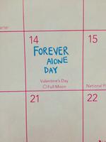 arter 14 Forever AlotJE DAY 15 Valentine's Day O Full Moon National FI 21 22 fc 1