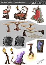 Telvanni Wizard's Fungus Furniture gKYWINQ