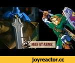 Link's Master Sword (Legend of Zelda) - MAN AT ARMS,Games,,Which weapon will be next? ► Subscribe! http://bit.ly/AWEsub Every other Monday, master swordsmith Tony Swatton forges your favorite weapons from video games, movies, and television. This week, he tackles your most-requested weapon: Legend