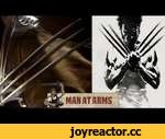 X-Men Wolverine Claws (The Wolverine) - MAN AT ARMS,Tech,,Every week our master swordsmith and renowned propmaster, Tony Swatton, forges iconic weapons using high-speed belt grinders, scorching furnaces, and pounding power hammers. Then he takes his weapon to the streets to bust up some stuff.