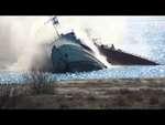 Российские оккупанты взорвали еще один корабль на выходе из Донузлава,People,,Очередное подтверждение агрессии путлеровских войск в Крыму