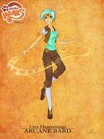 Series 6 i* , . • Lyra Heartstrings ARCANE BARD - ¿l*/* * » ■ *Vv * w.? >*. №«ite j№* J.