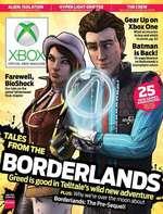 "6ear t XboxOne I ""525£s£ S Batman | is Back! r *ss55ft d is good i n Telltale's wild new ad I&ÜF plus: Why we're ovi erthe moc Borderlands: The Pre-Sequel!"