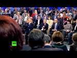 Путин: Если власти в Киеве применяют армию против народа, то это преступление,News,,Президент России Владимир Путин, отвечая на вопросы на медиафоруме ОНФ в Санкт-Петербурге, заявил, что считает проводимую киевскими властями силовую акцию против сторонников федерализации Украины серьезным преступлен