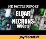 Eldar vs Necrons Warhammer 40K Battle Report CLASH AT THE CRYPT! 6th Ed 1850pts | HD Video,Games,,Eldar vs Necrons Warhammer 40K Battle Report CLASH AT THE CRYPT! 6th Ed 1850pts:  Two of our most highly powered and tough to beat armies clash at the Crypt City in this classic encounter: Necrons vs