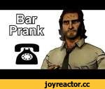 Bigby Continues His Search for the Woodsman - The Wolf Among Us Prank Call,Games,,Bigby continues his search for the Woodsman.  Soundboards: http://www.realmofdarkness.net/pc/  Prank call done with the voice of the video game character, Bigby Wolf, from The Wolf Among Us.  If you like the video and