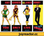 YOU IONLY JEAN GREY I JEAN GREY IS JAMES