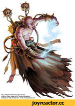 'Rogue Psyker' © Fantasy Flight Games Product Rogue Trader RPG: HostiJe Acquisitions Art Director Andy Christensen - Artist: www.jasonjuta.com