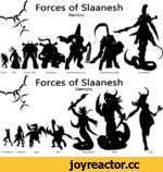Forces of Slaanesh