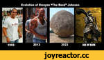 "Evolution of Dwayne ""The Rock"" Johnson"