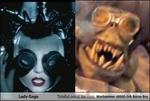 TotallyLooksLike.com Warhammer 40000 Ork Burna Boy Lady Gaga