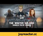 How Captain America: The Winter Soldier Should Have Ended,Film,,On your left! Before going into battle, Cap and Team discuss their options and realize they've had something very useful in their possession all along. Thanks for Watching! Captain America HISHE