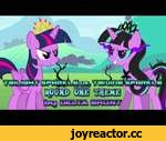 Twilight Sparkle vs. Twivine Sparkle (Round One Theme),Music,,Song: http://www.mediafire.com/download/efdql3bxrl00e7k/Twilight+Sparkle+vs.+Twivine+Sparkle+%28Round+1+Theme%29.mp3  Twivine is back as an evil twin of Twilight Sparkle. She plans to absorb the magic from the first princess which is