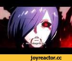 Tokyo Ghoul- Touka epicness | Episode 5,Entertainment,,Studio Pierrot, fuck your latest shitty Naruto episode with that whore Karin. This is a REAL anime episode. Touka is going to kick ass!