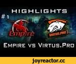 Empire vs VP Highlights Dota 2 [Game 1] Bo5 Beat It Global 2014,Games,,24.08.2014 Team Empire vs Virtus.Pro Dota 2 Highlights [Game 1] Bo5 Beat It Global 2014 Qualifier Grand Final ubscribe us on YouTube: ➜ http://bit.ly/PotatoGamingDota2  Like us on FaceBook: ➜ http