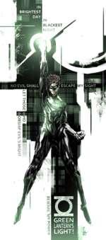 NO EVIL SHALL GREEN LANTERN'S LIGHT! IN BLACKEST NIGHT A
