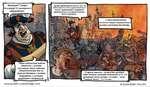 Внимание! Говорит Альтдорф! От имперского информбюро!.. . распространяющиеся слухи о том, что война идет не столь хорошо являются ложью, провокацией и подрывной деятельностью со стороны шпионов хооса и еретиков... ... Наши доблестные войска, совместно с сила/ли союзников, ведут тяжелые оборонител