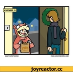NOVEMBER 31 ©2007 KATIE TIEDRICH WWW.AWKWARDZOMBIE.COM