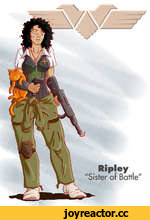 "Ripley ""Sister of Battle"""