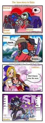 Normal A/eaver ¡Brood 'mother Jack, Ennis, Lesbian. The love story in Dota f^-PflonZn^Q/'XVHgrî/? -v.