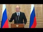 Путин рассказал американцу про отличие бабушки от дедушки 17.10.2014,People,,На пресс-конференции в Милане на вопрос американского корреспондента о том, что будет, если рубль продолжит падение, Владимир Путин ответил известной русской поговоркой, несколько смягчив формулировку.