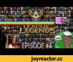 League of Legends - Trip to Challenger. Episode #4,Games,,