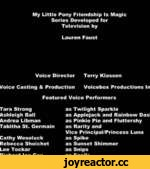 My Little Pony: Equestria Girls - A Friend For Life (Ending Credits) HD