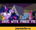Logic With Pinkie Pie: The Number of Stars in the Night Sky,Film,,Please support me on Patreon! http://www.patreon.com/yudhaikeledai Also, Please visit and subscribe to these talents who made this animation a reality! Meredith Sims, as the voice of Twilight Sparkle