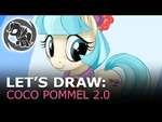 Let's Draw: Coco Pommel,Entertainment,,Picture: http://fav.me/d8balgf Program: Manga Studio 5 BGM: YT Audio Library