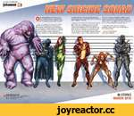 DC COMICS PRESENTS... [channel №№№№ in Russia last year. And who we have up next in future issues should make Belle Reve Penitentiary a pretty happenin' hot spot. Parasite will be the team's secret weapon against ISIS in the next arc beginning in June's issue #9. Black Hand has a power that Squ