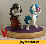 "Octavia and Vinyl Auction,Film,,Set of 4"" standing Ponies - Octavia and Vinyl   7 day Auction set for 2-15-15 7 PM PST  http://www.ebay.com/itm/MLP-FiM-My-Little-Pony-Custom-Octavia-and-Vinyl-Scratch-Sculpture-OOAK-/301531338215?"