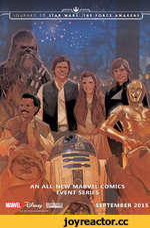 AN ALL-NEW MARVEL COMICS EVENT SERIES SEPTEMBER 2015 ©«' TM 2015 LUCASFILM LTD