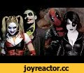 JOKER & HARLEY QUINN vs DEADPOOL & DOMINO - Super Power Beat Down (Episode 16),Entertainment,Joker,Harley Quinn,Deadpool,Domino,Bat in the Sun,Super Power Beat Down,battle,marvel vs dc,xmen,batman,aaron schoenke,debate,comic con,live action,spiderman,darth maul,deathstroke,Loot Crate delivers epic