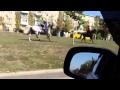 Моторола на коне в Донецке,Autos & Vehicles,Arseny Pavlov,Donetsk (City/Town/Village),Донецк,ДНР,Новороссия,конь,город,сепаратист,террорист,украина,АТО,новости,музыка,три мушкетера,Моторола,Арсений Павлов,