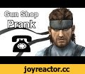 Solid Snake Calls Gun Shops - Metal Gear Prank Call,Gaming,solid snake,calls,gun shops,prank call,konami,metal gear solid,metal gear solid 5,phantom pain,gameplay,soundboard,video game prank call,funny,Snake requires a sniper rifle and other gear for his current mission he's been assigned but do to