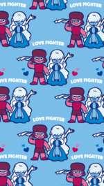 """ж tOVE FIGH m}£ w # ТтШ >VE FIGHTE# l*pv f """"А' Ж VOVE FIGH #. • • г • • • • • • • • • • •"""