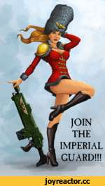 JOIN THE IMPERIAL GUARD!!!