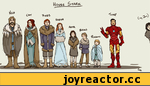 Ned. Cat. Roob. Sansa. Arya. Bran. Rickon. Tony. (nj, Jon)