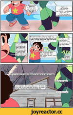 Well that's all water under the bridge now. As fellow gems, we should all be friends. Even Jasper, although she's super mean and wants I to beat my mom into the ground. The Steven is far too optimistic. Gems don't desire friendships with those we view as lower forms. So urn...yea this is my ro