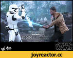 Ф а '* lucasfilm lid ш Я -TTAR.WARX FIRST ORDER F Т N1NJ & RIOT CONTROL Г I IN IN. C* STORMTROOPER HOT TOYS • 1/6™ SCALE COLLECTIBLE SET PROTOTYPE SHOWN. FINAL PRODUCT MAY BE SLIGHTLY DIFFERENT
