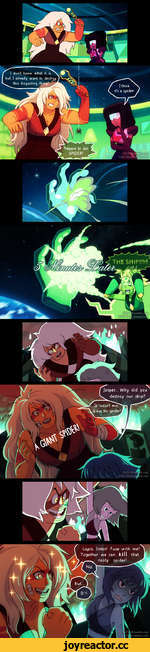 |1№д sfeoai I don't know what it is, but I already want to destro this disgusting thins* U Prepare to die, SPIDER! r.com t.com Jasper... Why did you . destroy our ship? ^ It wasn't me it was the spider! DAV-19.t DAV-19.devi Lapis, listen! Fuse with me! Together we can kill that ^ nasty sp