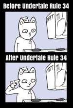 Before undertale вше 34 Alter underlale Rule 34