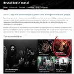 Brutal death metal Обзор Исполнители Альбомы Композиции Вики Сообщения Связано с: death metal • technical death metal • grindcore • metal slamming brutal death metal • goregrind Брутальный дат метал — термин, использумый для описания дэт-метал-групп, сосредотачивающих внимание на скорости игры,