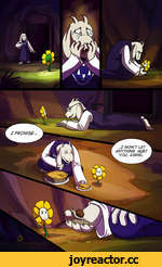 ..J WON'T LET ANYTHING HURT YOU, ASRIEL.