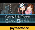 Gravity Falls Extended Theme -- Synthesia HD,Music,synthesia,Gravity Falls,Piano,how to play,tutorial,midi,sheet music,pdf,free,download,dipper,mable,pines,disney,channel,weimtime,djdelta0,remix,solo,extended,Easier than previous transcriptions but still fun.  ►►Thanks to the WeimTime LLC Crew for t